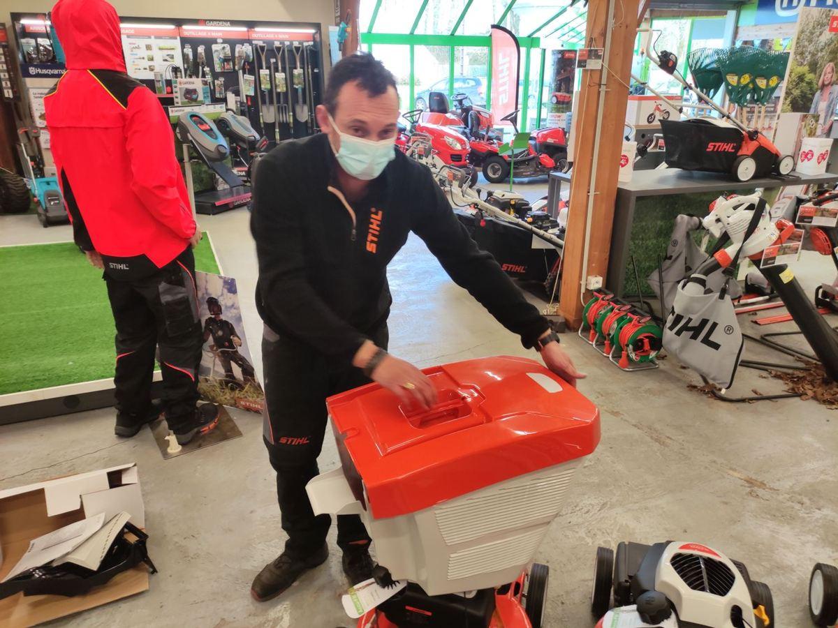 L'entretien de votre gazon au printemps, les conseils de votre magasin Perramant à Landerneau et Morlaix.