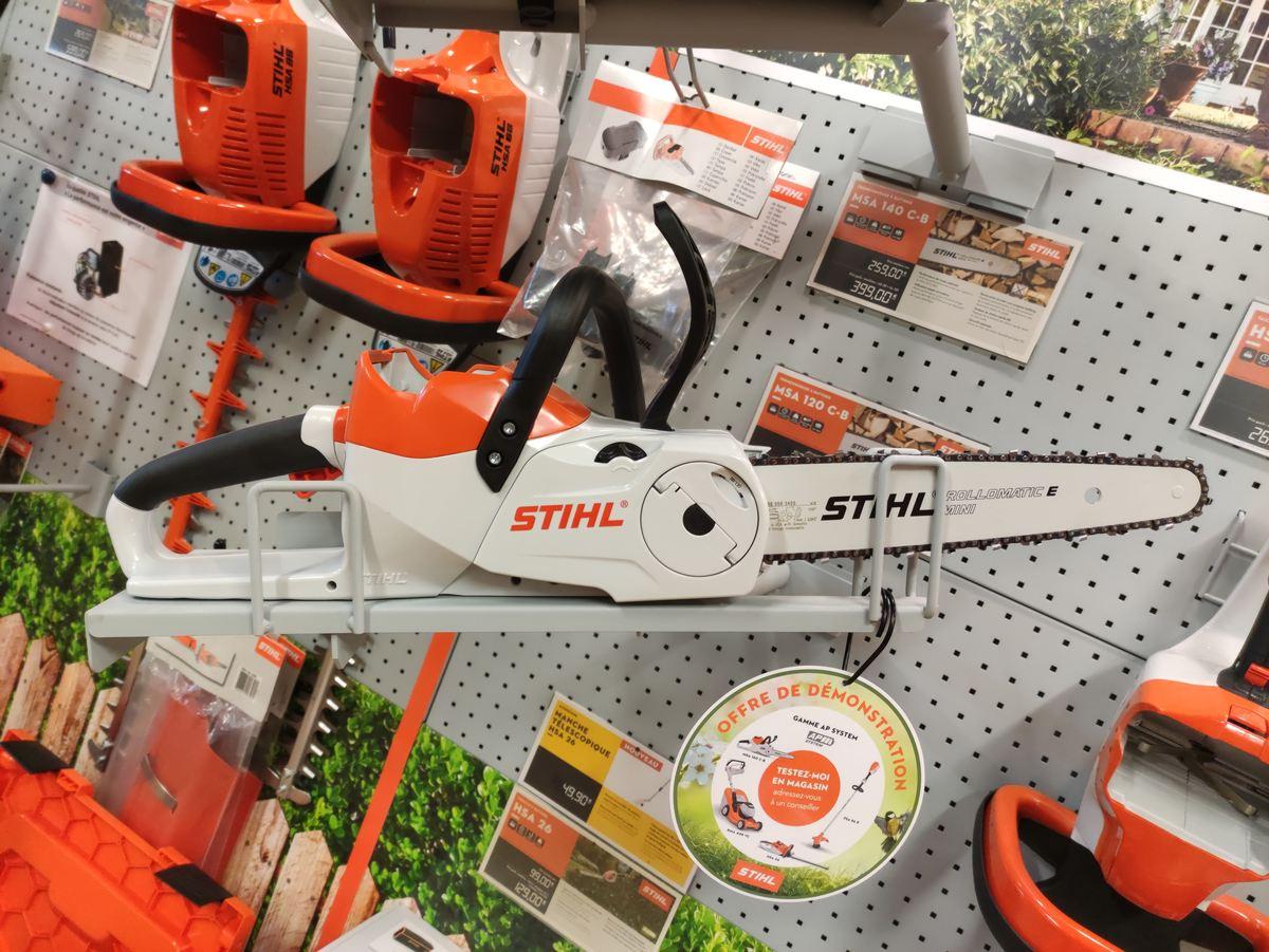 Venez tester les outils de jardinage à batterie lithium-ion Stihl