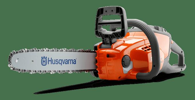 Tronçonneuse sans fil à batterie HUSQVARNA 120 i, avec ou sans pack batterie